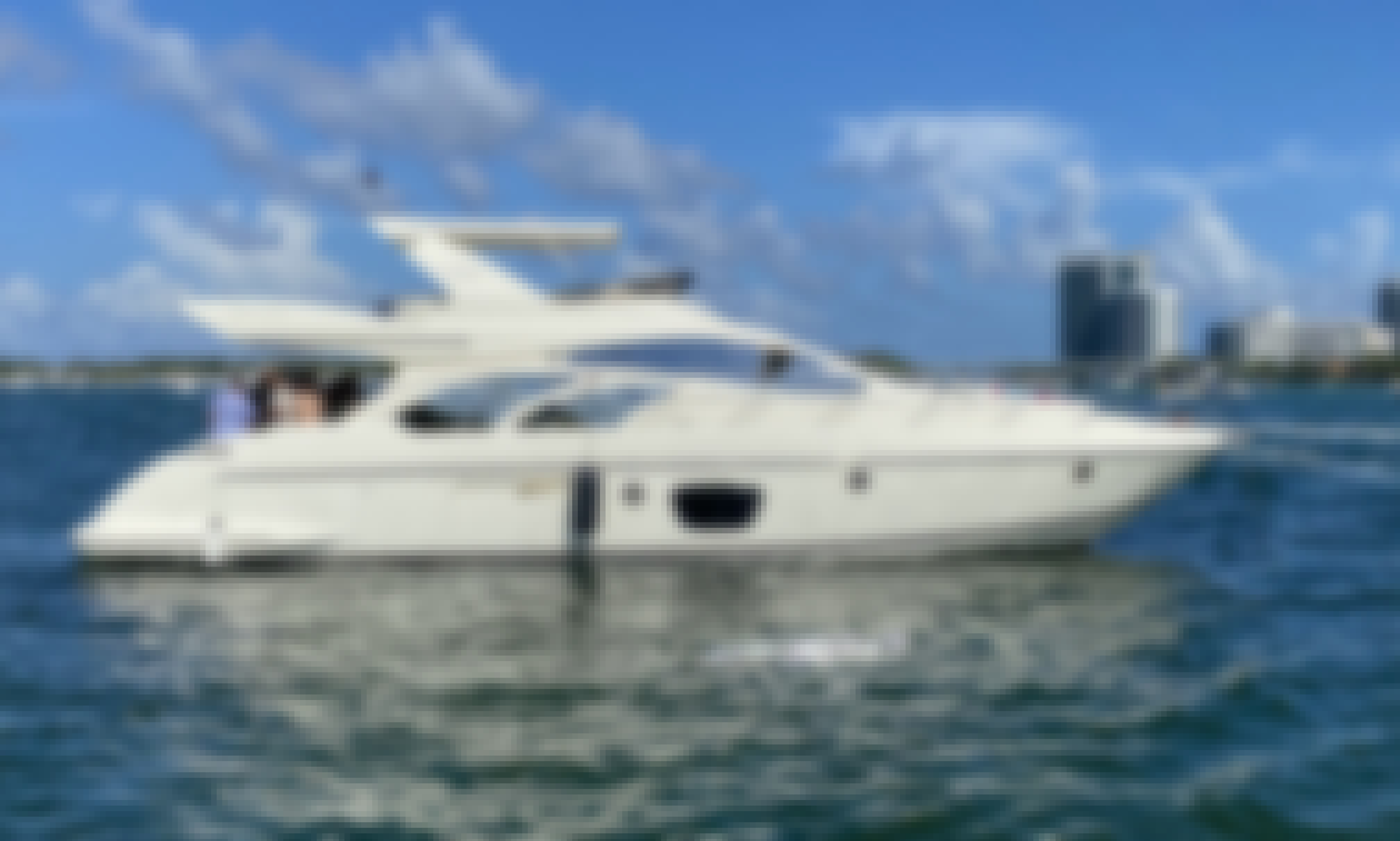 "Azimut Flybridge 55"" in North Miami, Florida!"