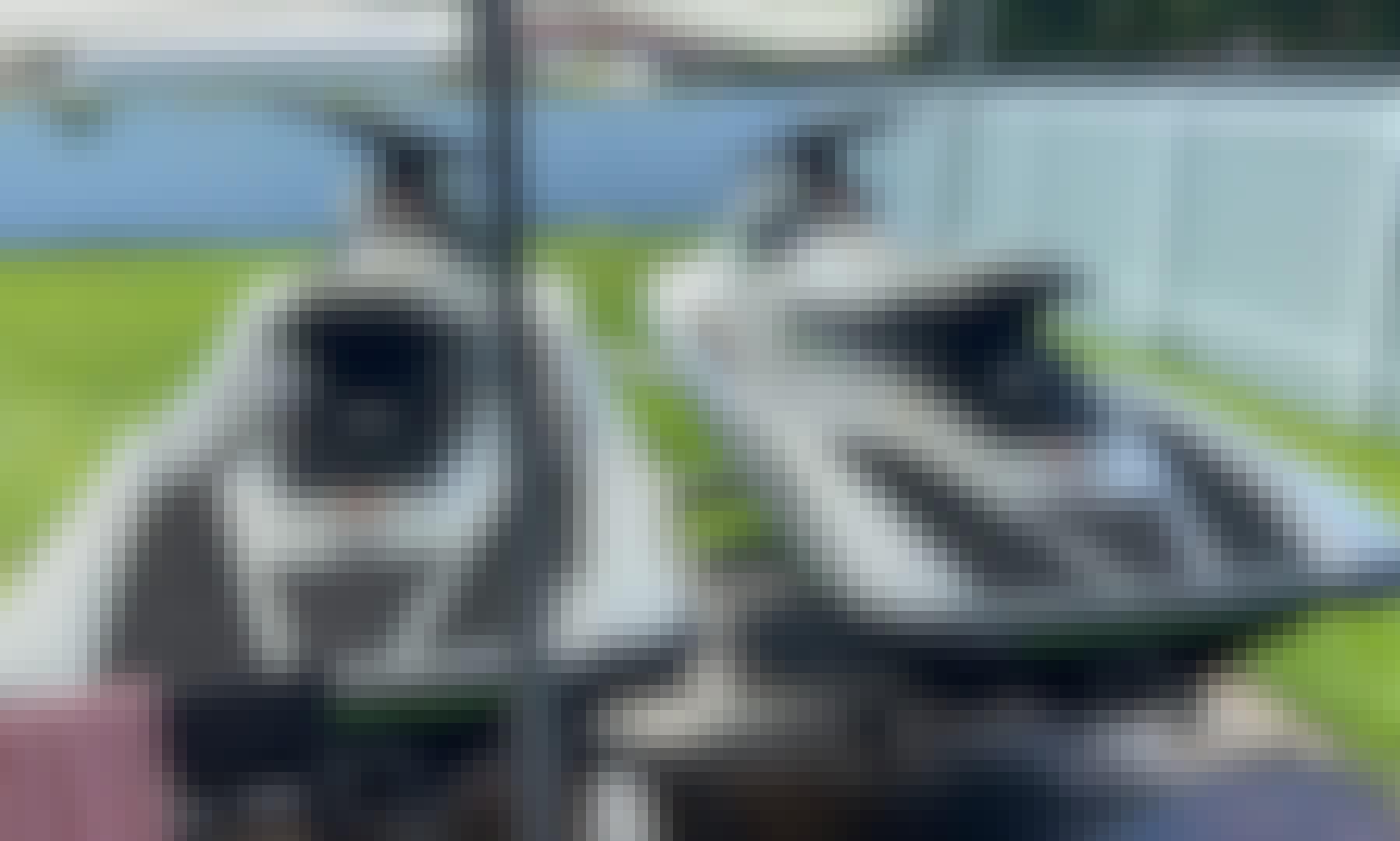 Two Yamaha EX Waverunner in West Palm Beach, Florida