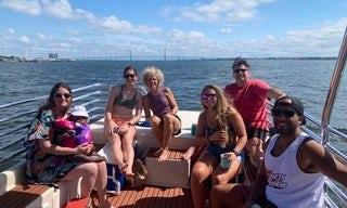 2-Hour *Private* Charleston Harbor BYOB Boat Charter - 28' Carolina Skiff