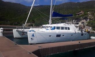 Lagoon 50 Cruising Catamaran for 10 People in Road Town