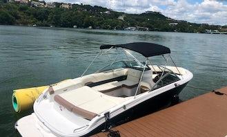 Book the Cobalt 220 Bowrider in Lake Austin, Texas