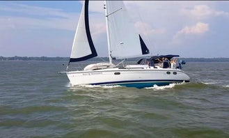 Sail the Bay with Hunter 380 Sailing Yacht from Edgewater, Maryland