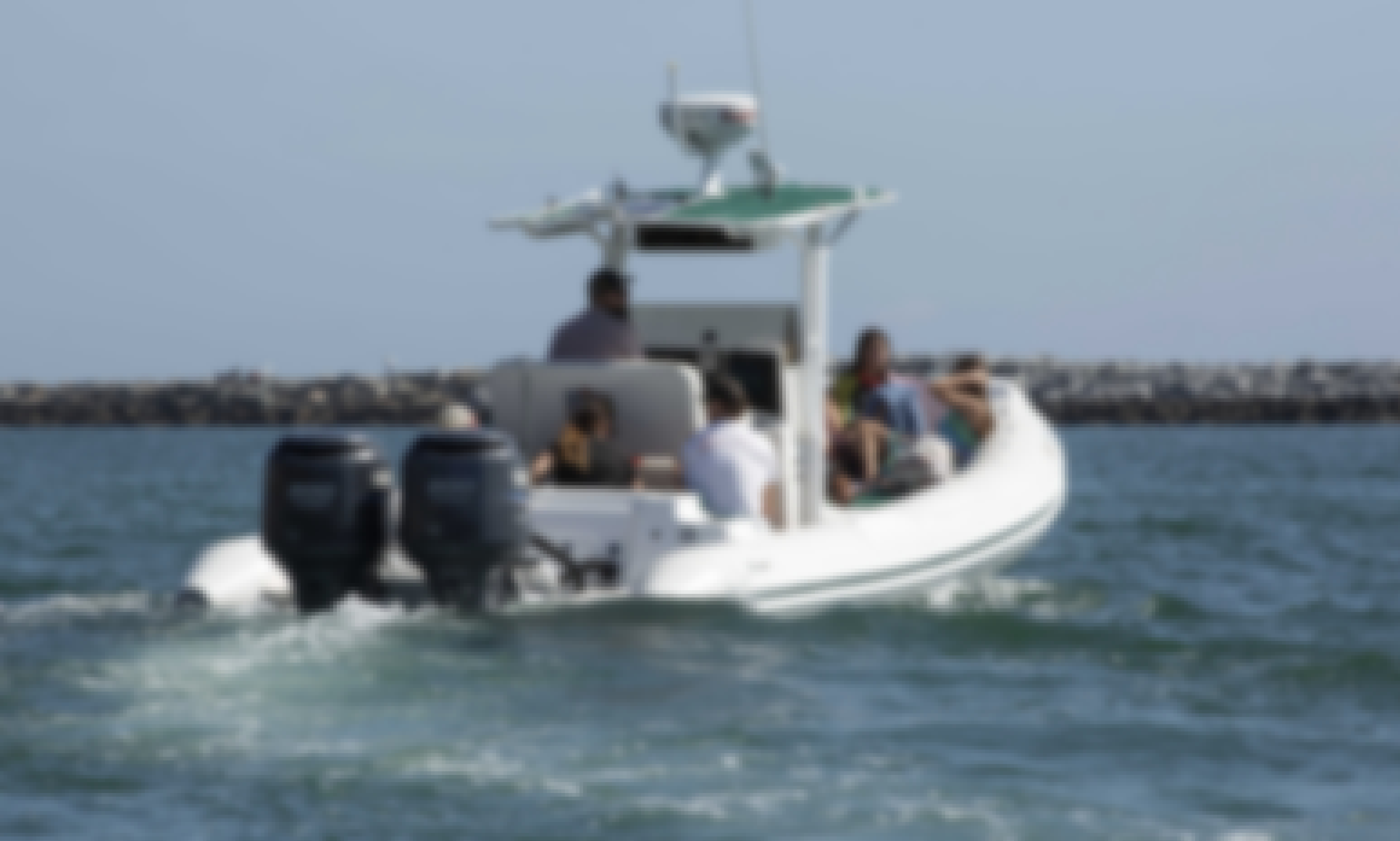 Luxury Boat for Coastal/Harbor cruises or dolphin whale watching