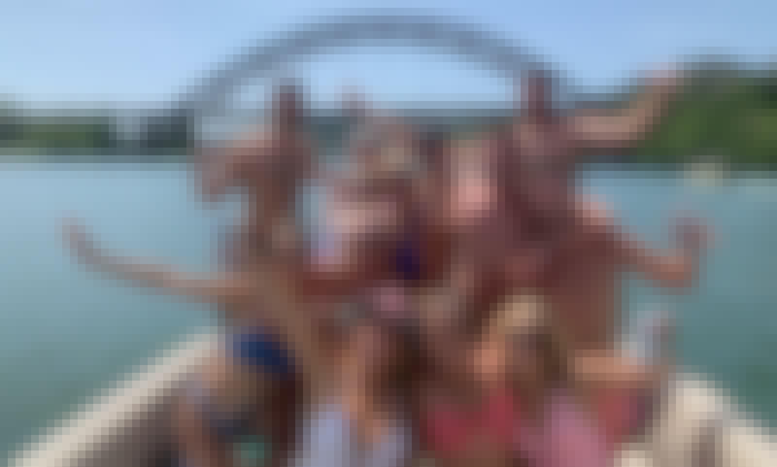 14 Passenger Tritoon /  Lake Austin