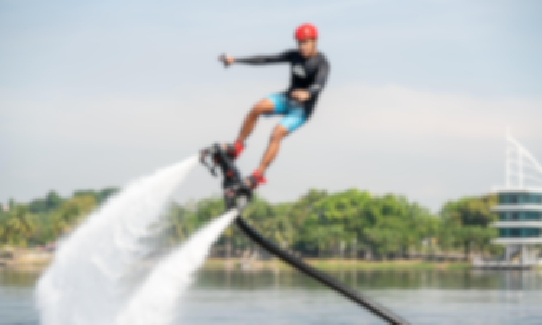 Jaw Dropping Flyboarding Flight in Putrajaya