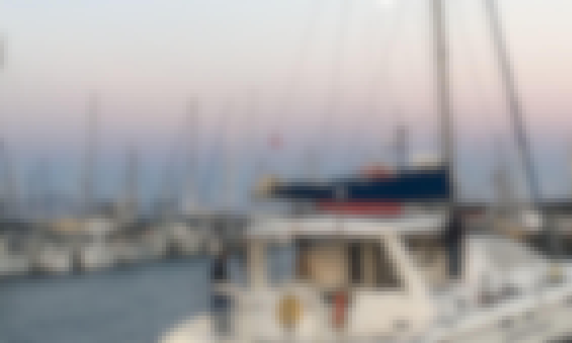 Explore the Ventura coast in style with this 43' Leopard sailing catamaran!