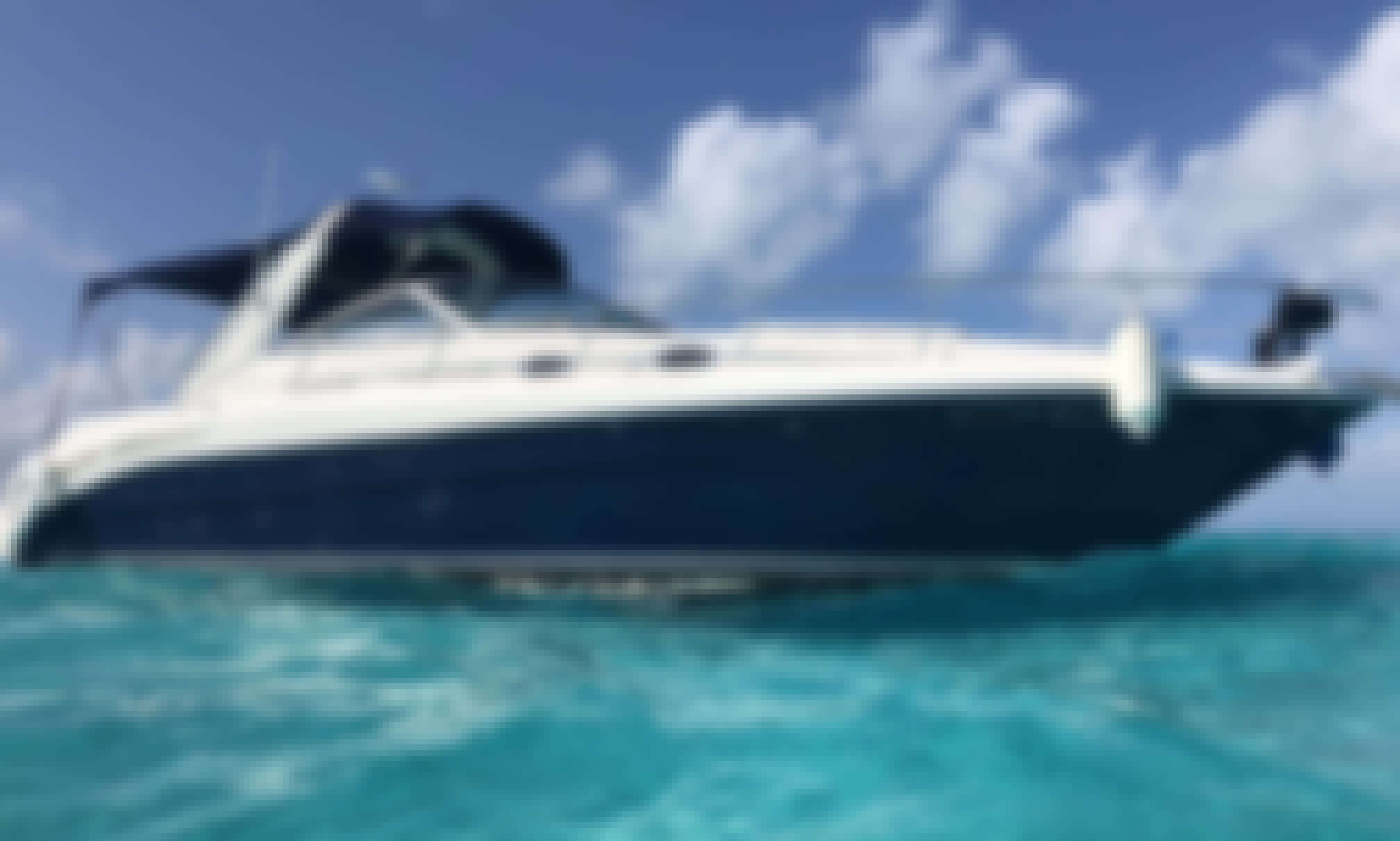 """Discover Isla Mujeres and the Mangrove with 34ft Searay ''Seawhisper""""  Motor Yacht"""