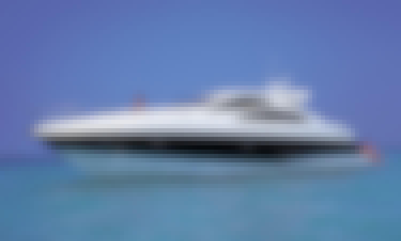 62' Sunseeker Power Mega Yacht Charter in Road Town