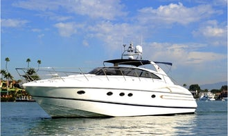 50' Viking Motor Yacht around Emerald Bay or Harbor Cruise of Newport Beach!