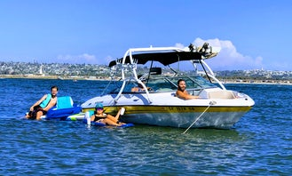 Four Winns Bowrider 8 Passenger for Cruising and Watersports in Mission Bay