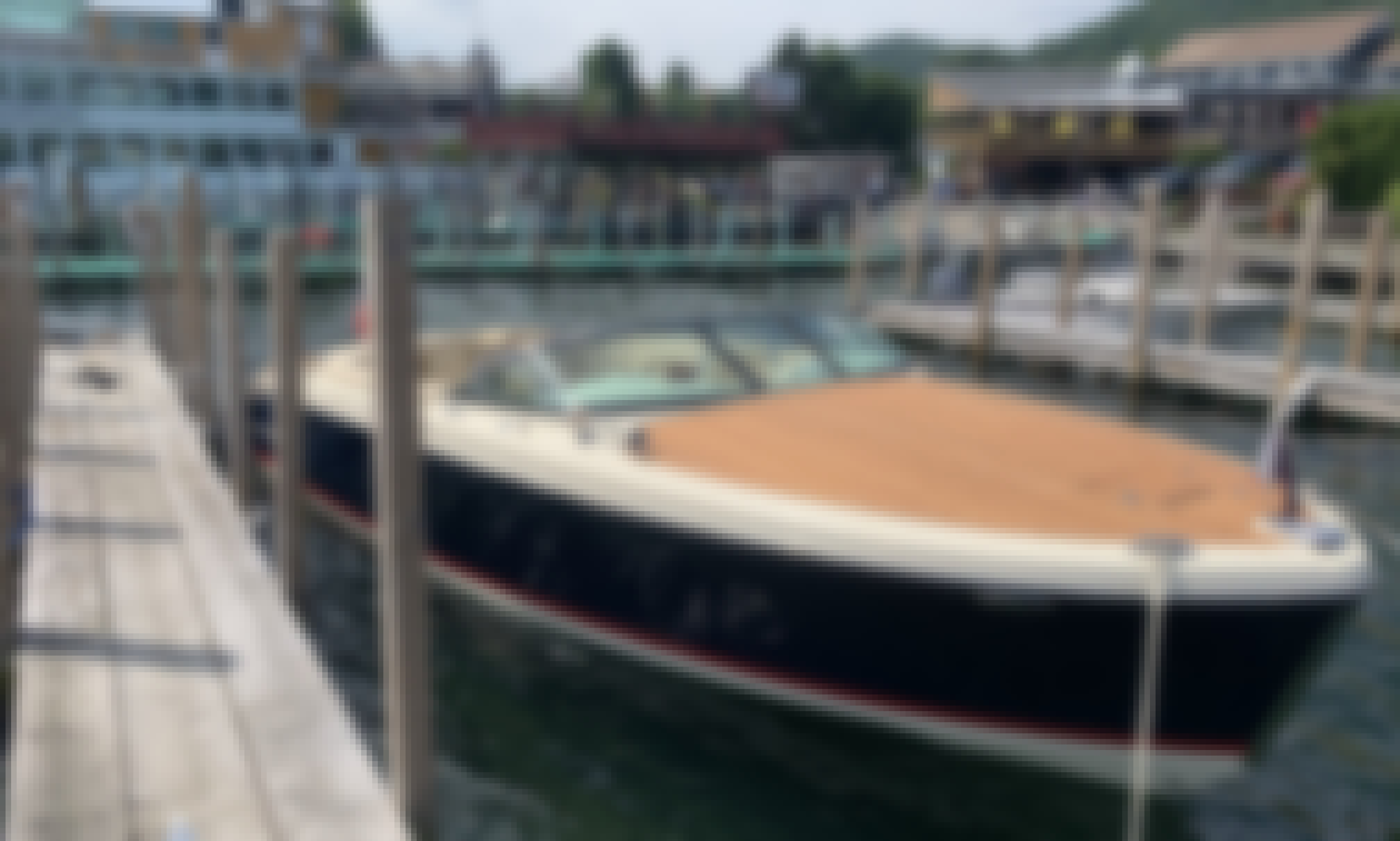 Classic Chris Craft Capri Boat for Rent in Newport Beach, California