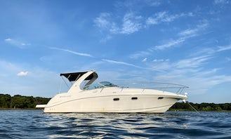 MTC 35' Cabin Cruiser Charter on Lake Lewisville