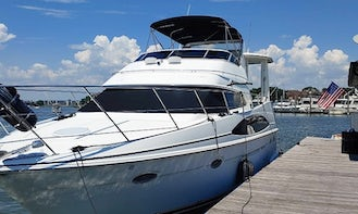 42' Carver Motor Yacht  Sunsets on the water Girl Parties Clear Lake Kemah area
