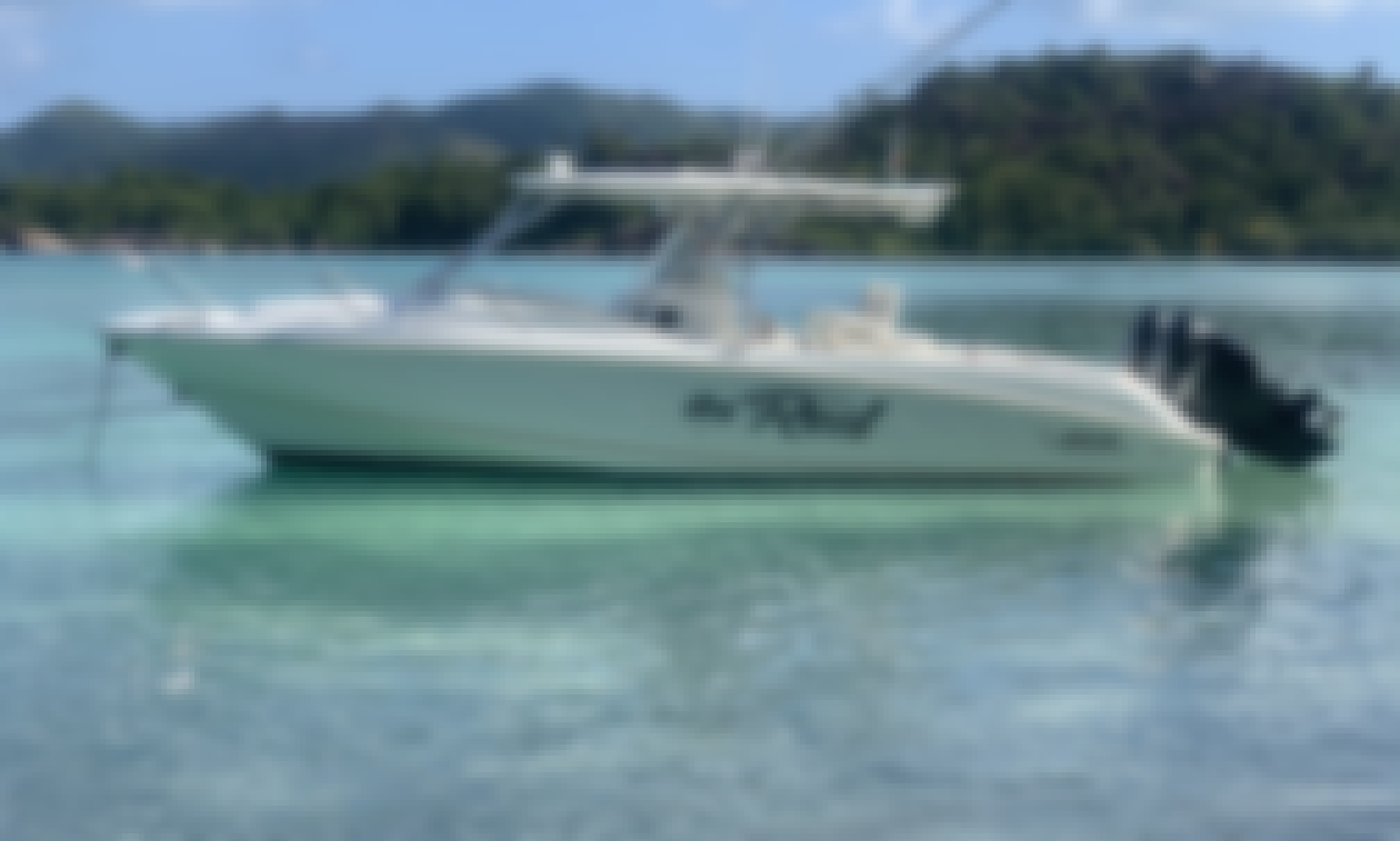 Luxury Fishing Charter in the Baie Sainte Anne, Seychelles