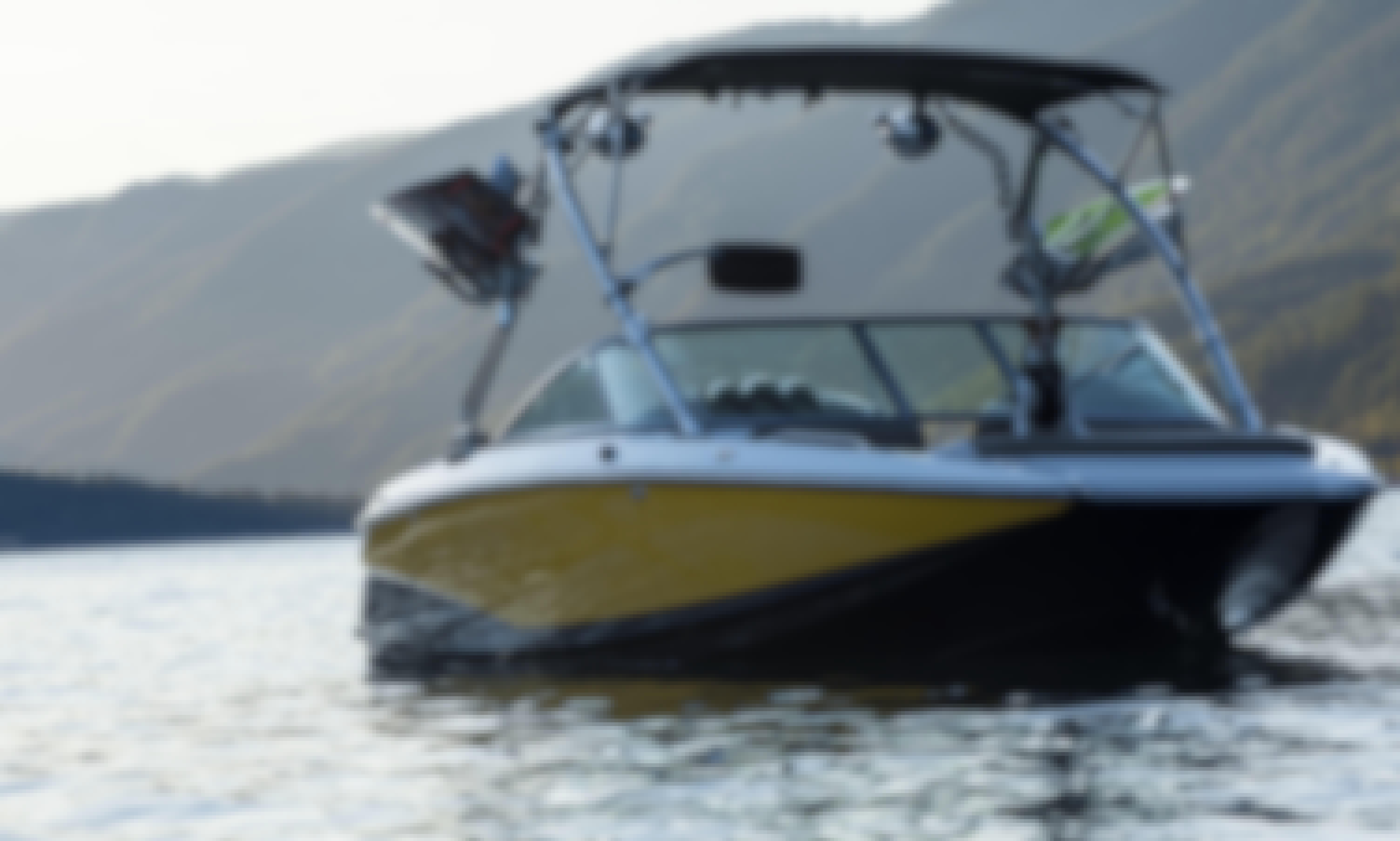 Masterctaft Wakeboard/Wakesurf Boat