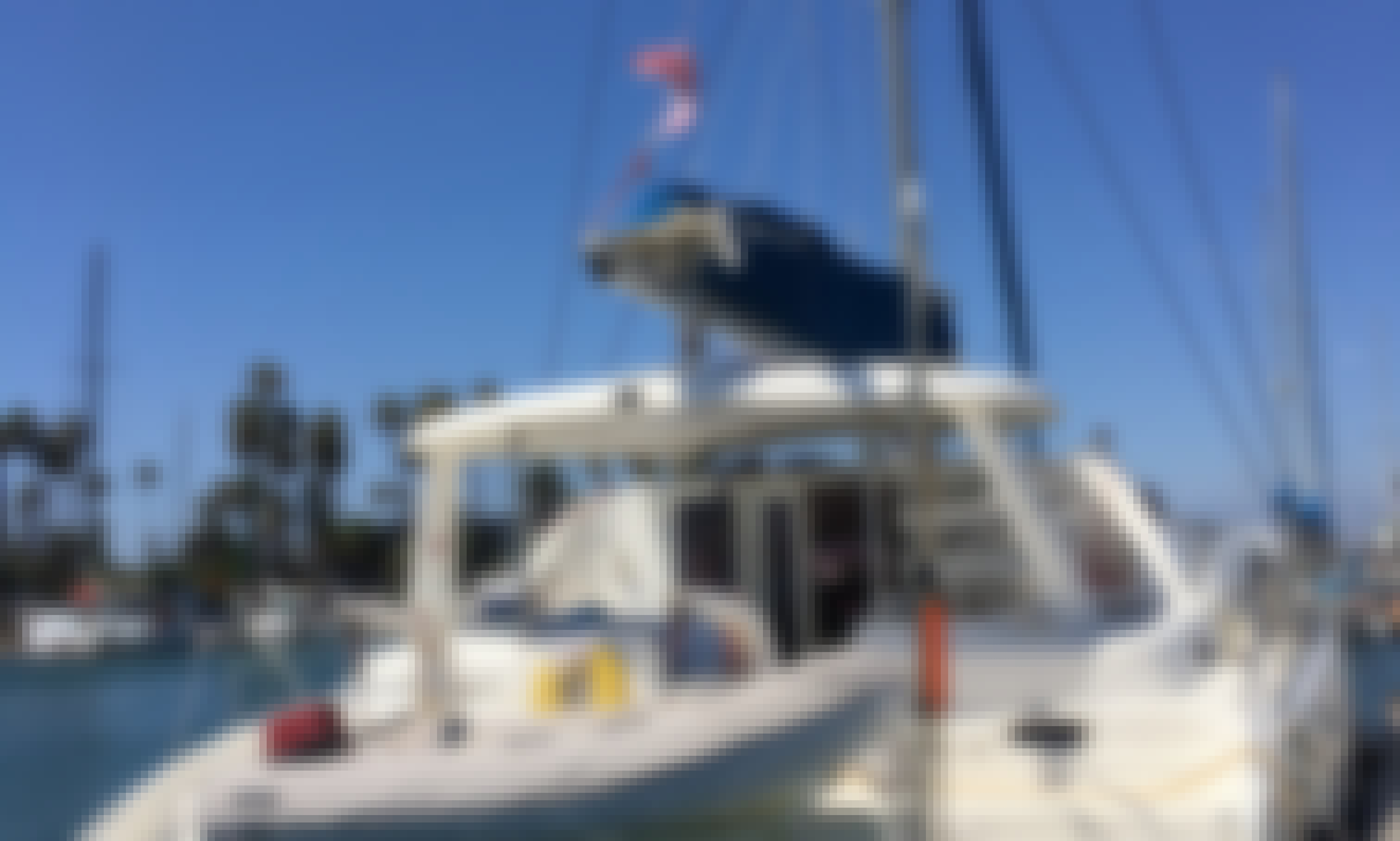 Explore the Ventura coast in style with this 43' Leopard sailing catamaran!