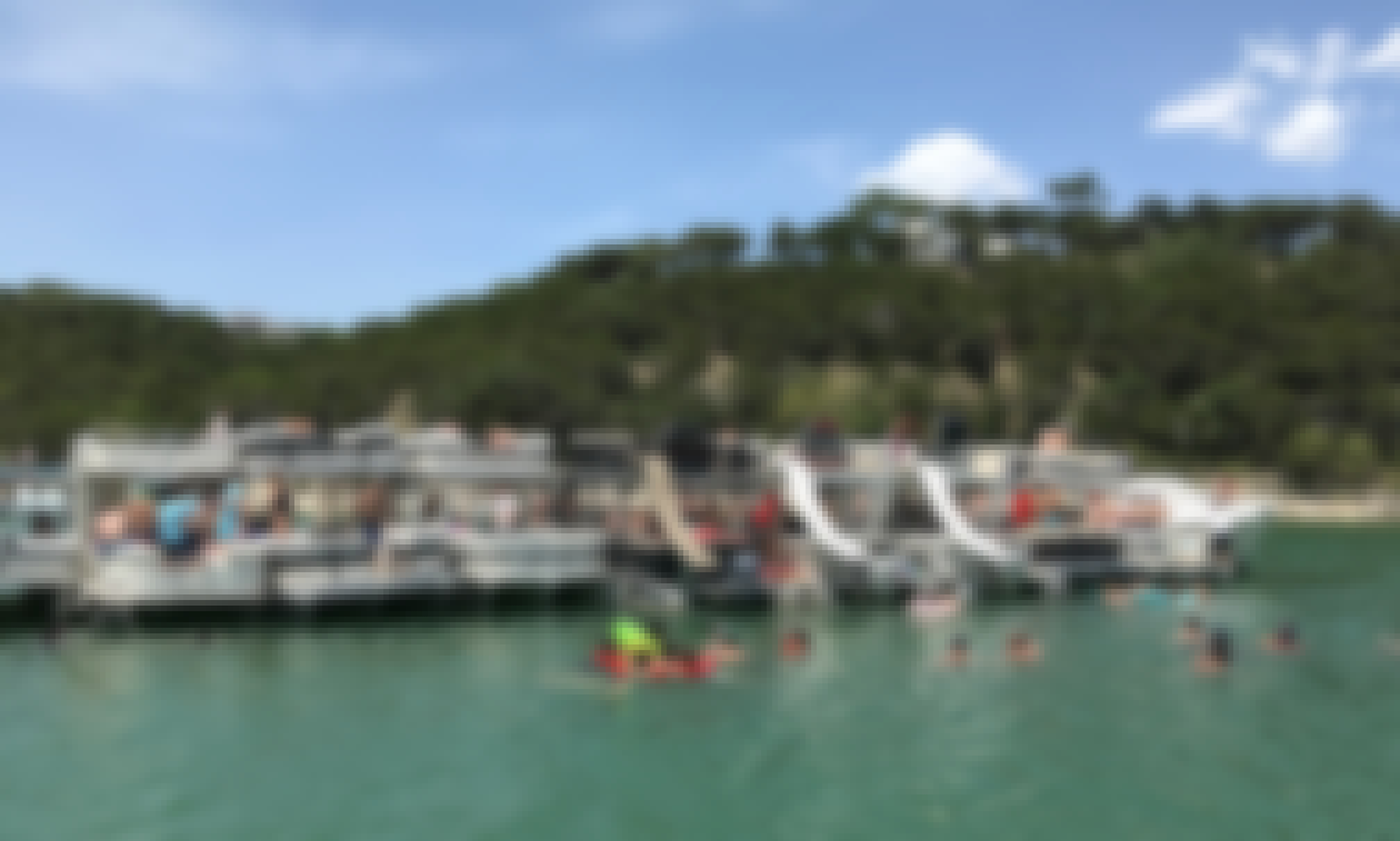 Party boat in Austin