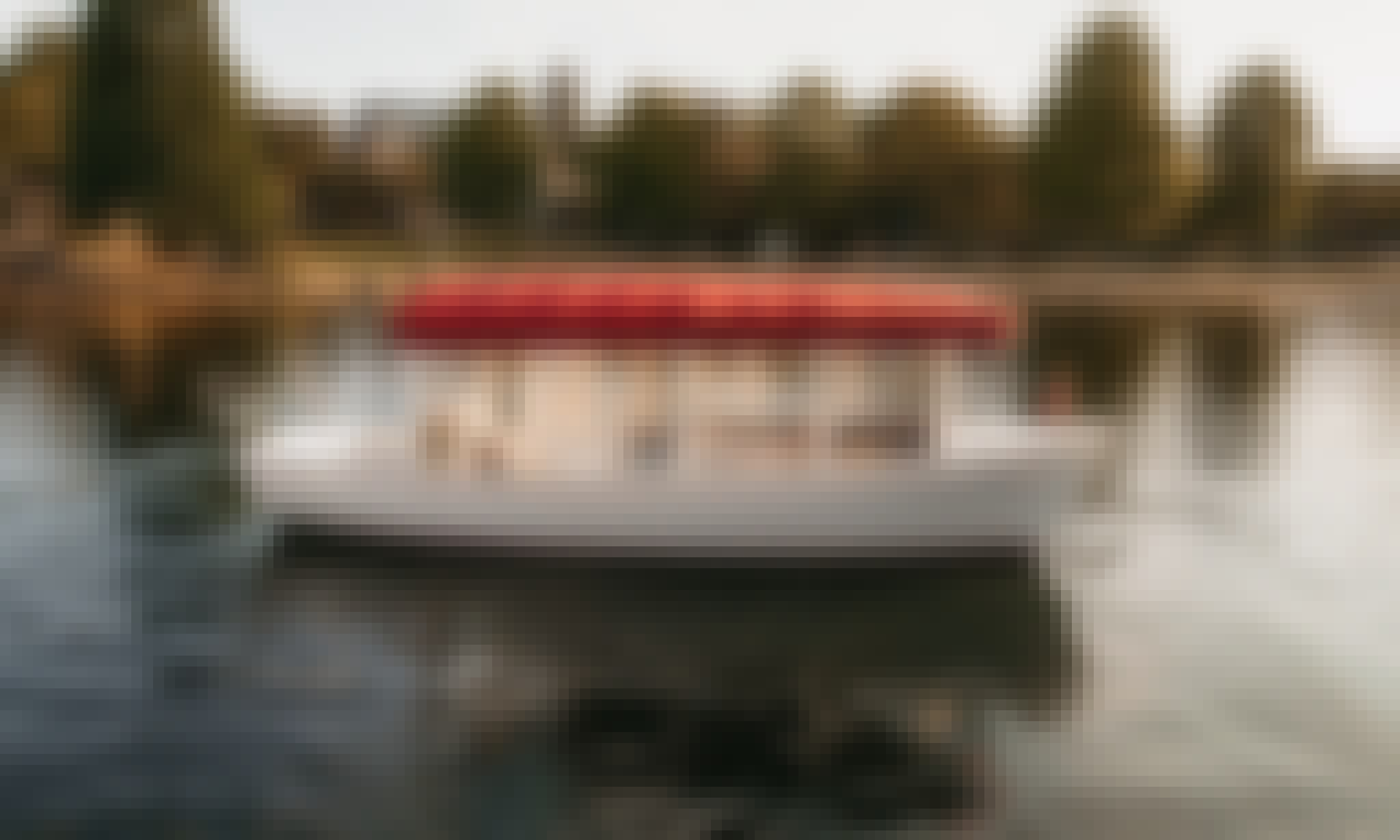 "21' ""Sun Cruiser"" Duffy Electric Boat Rental in Kirkland, WA"
