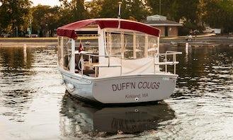 21ft ''Sun Cruiser'' Duffy Electric Boat in Kirkland, Washington