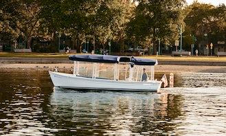 Rent 21' Duffy Electric Boat in Kirkland, Washington