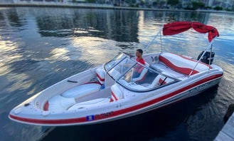 Nice, fast and comfortable 19' Tahoe Q4 Bowrider!