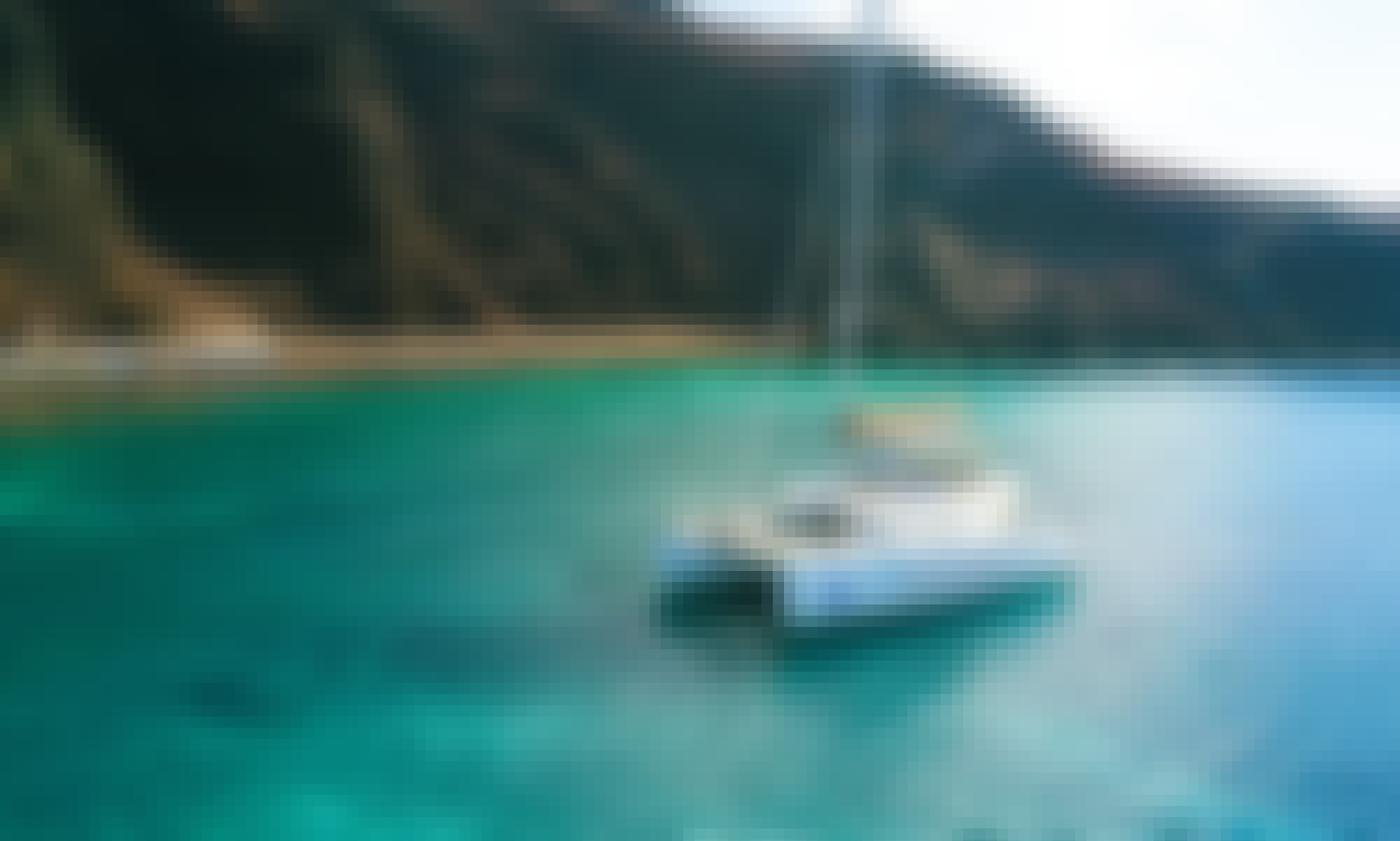 Private Daily Catamaran Sailing Cruises around Santorini