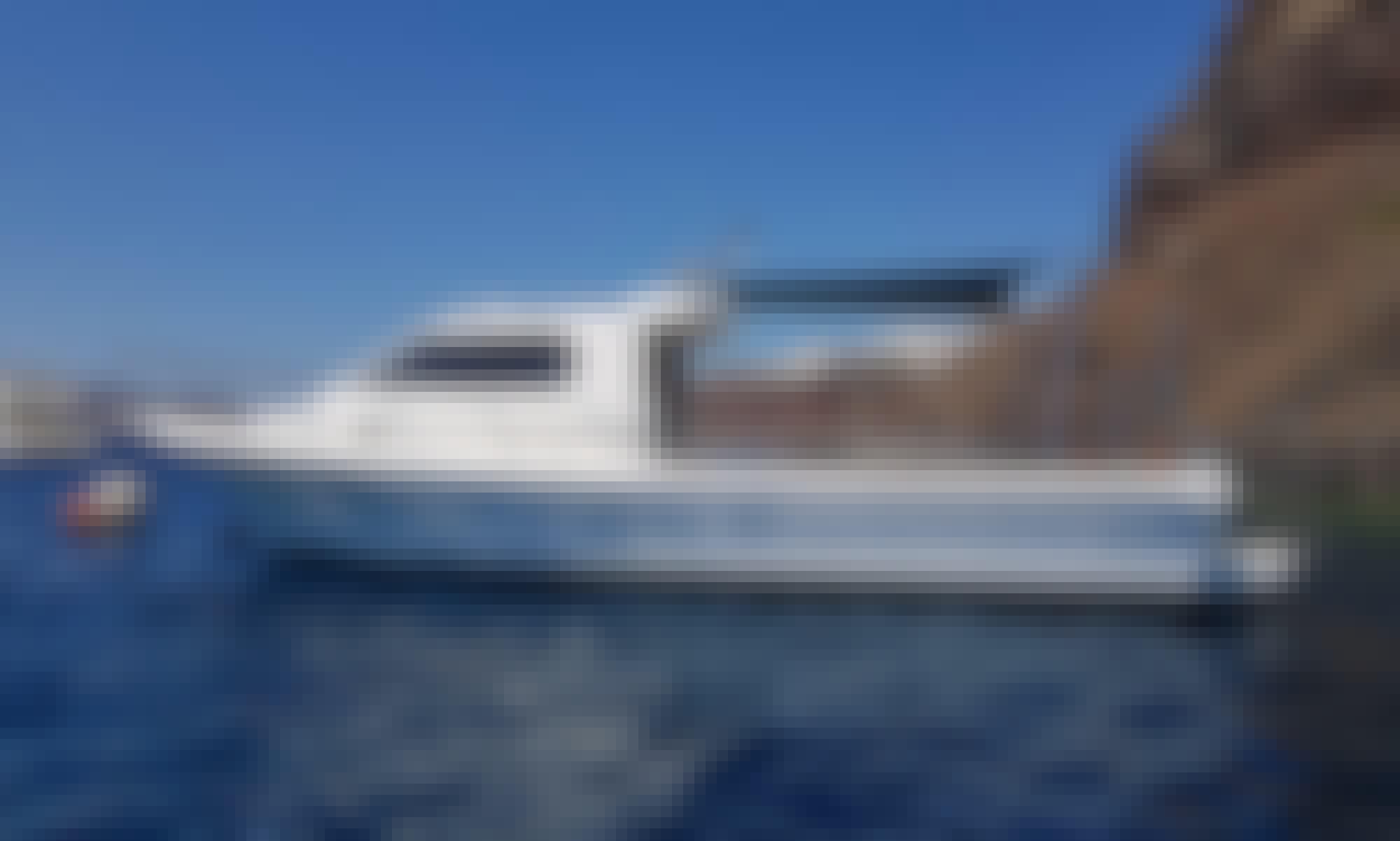 Caldera Motor Boat Cruise & Volcano Hike