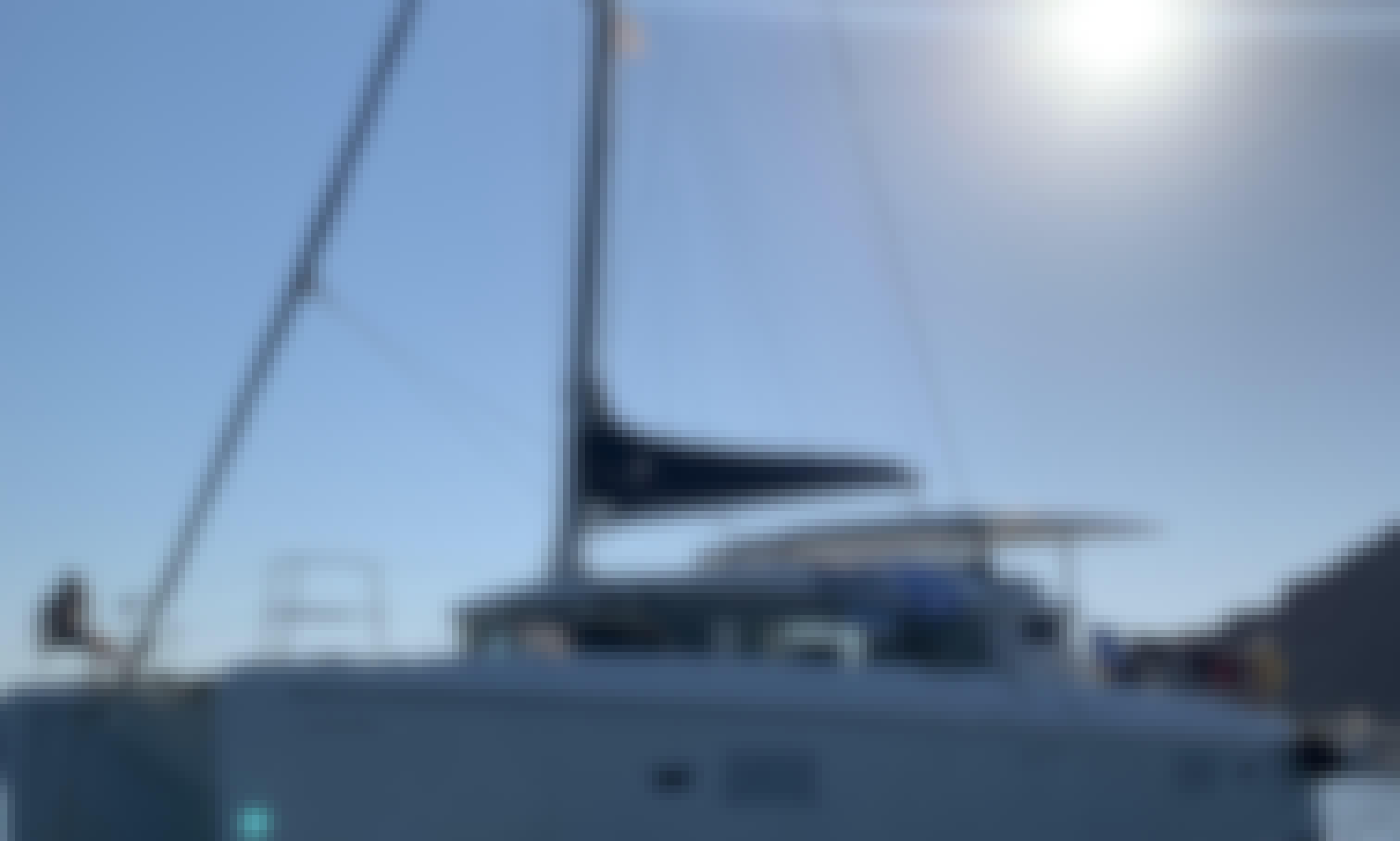 Luxury Sailing Catamaran Yacht in Ayia Napa