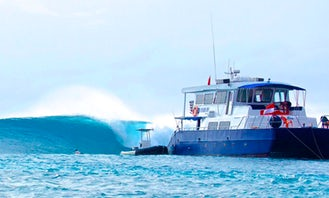 Wild Cat Surf Charters, in Padang, Indonesia.