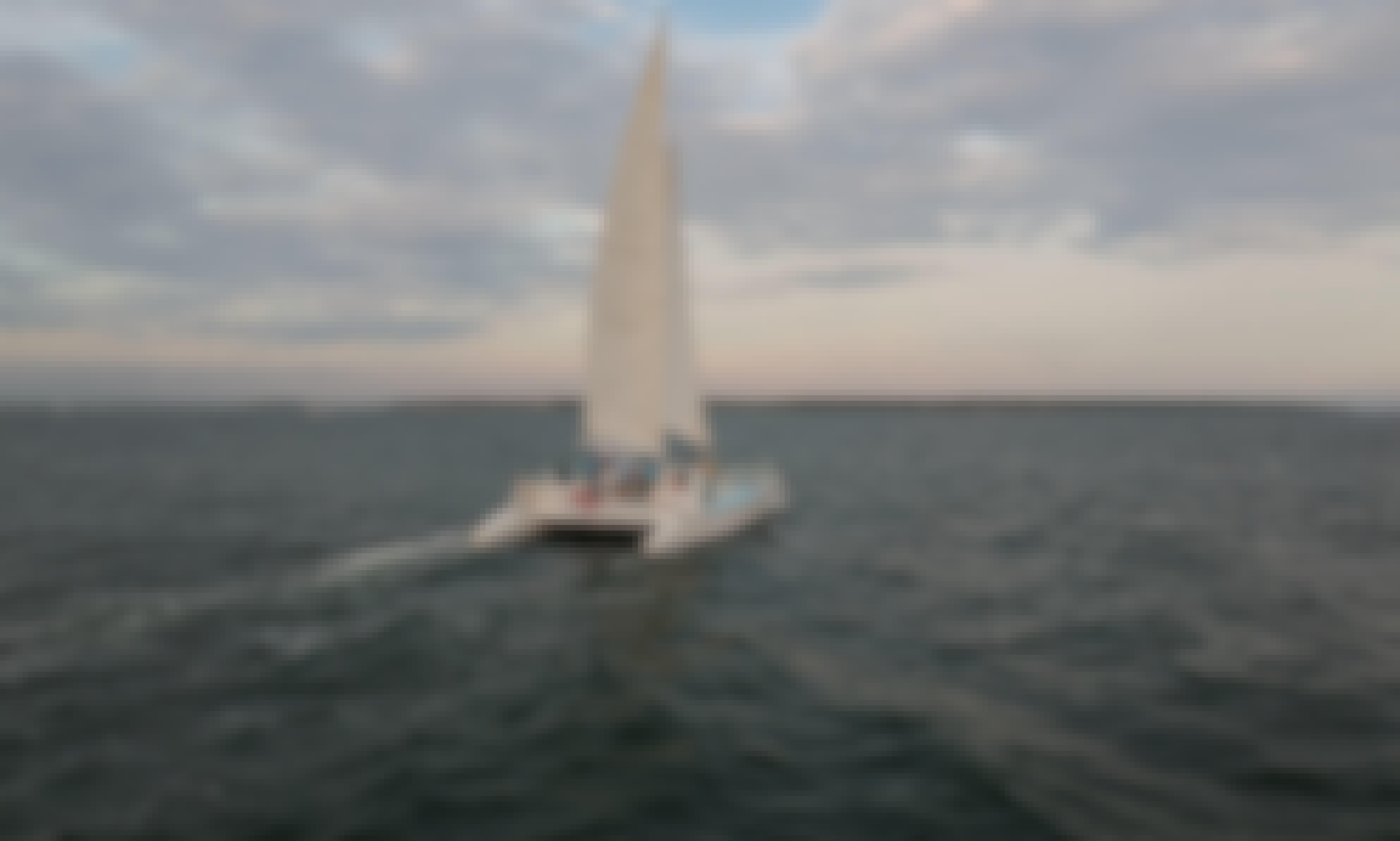 "45' ""Bay Breeze"" Sailing Catamaran Charter in Hyannis, Massachusetts"