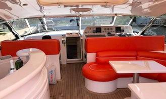 12 Person Motor Yacht Rental in Miami Beach, Florida