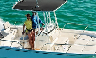 Rent the 19' Boston Whaler in Jolly Harbour
