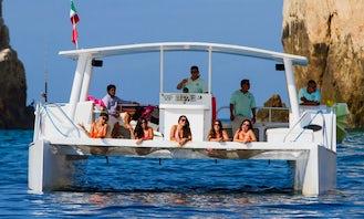 Captained Charter on 40' Power Catamaran in Cabo San Lucas, Baja California Sur