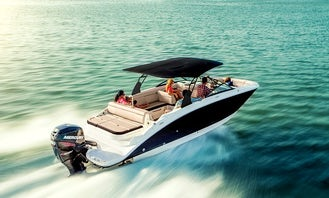 Brand new 28' Sea Ray Sundeck in Cancún min 5 hours rental