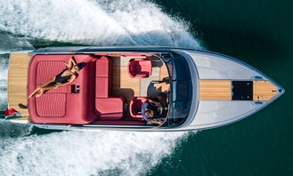 Explore Lake Como on a Private Boat Tour with Cranchi E26 Motor Yacht