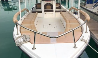 Experience DEEP SEA FISHING & PRIVATE ISLAND cruise in Abu Dhabi from us