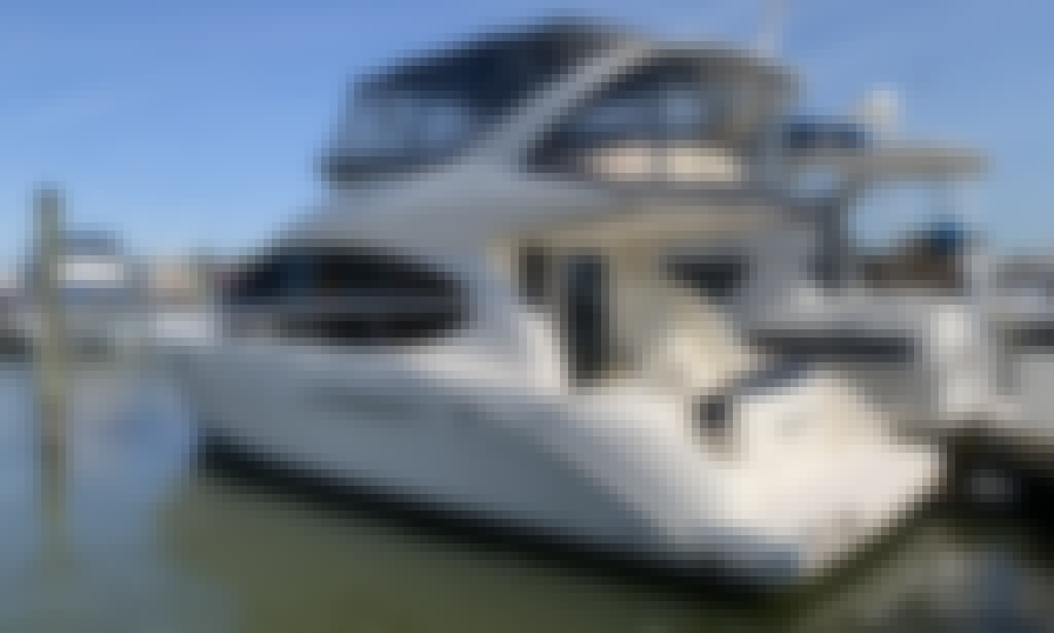 Luxury 3 Level Motor Yacht for Charter in Washington, District of Columbia