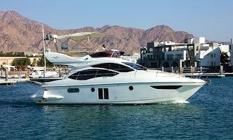 Maestro Luxury Yacht in Red Sea to Enjoy your Sunny, Friendly & Family Day in Aqaba, Jordan