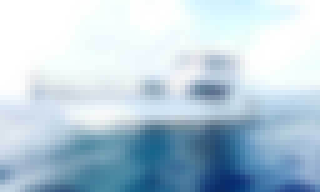 Deep Sea Fishing Charter Hatteras 60 Sportfishing Yacht from Olbia, Sardegna
