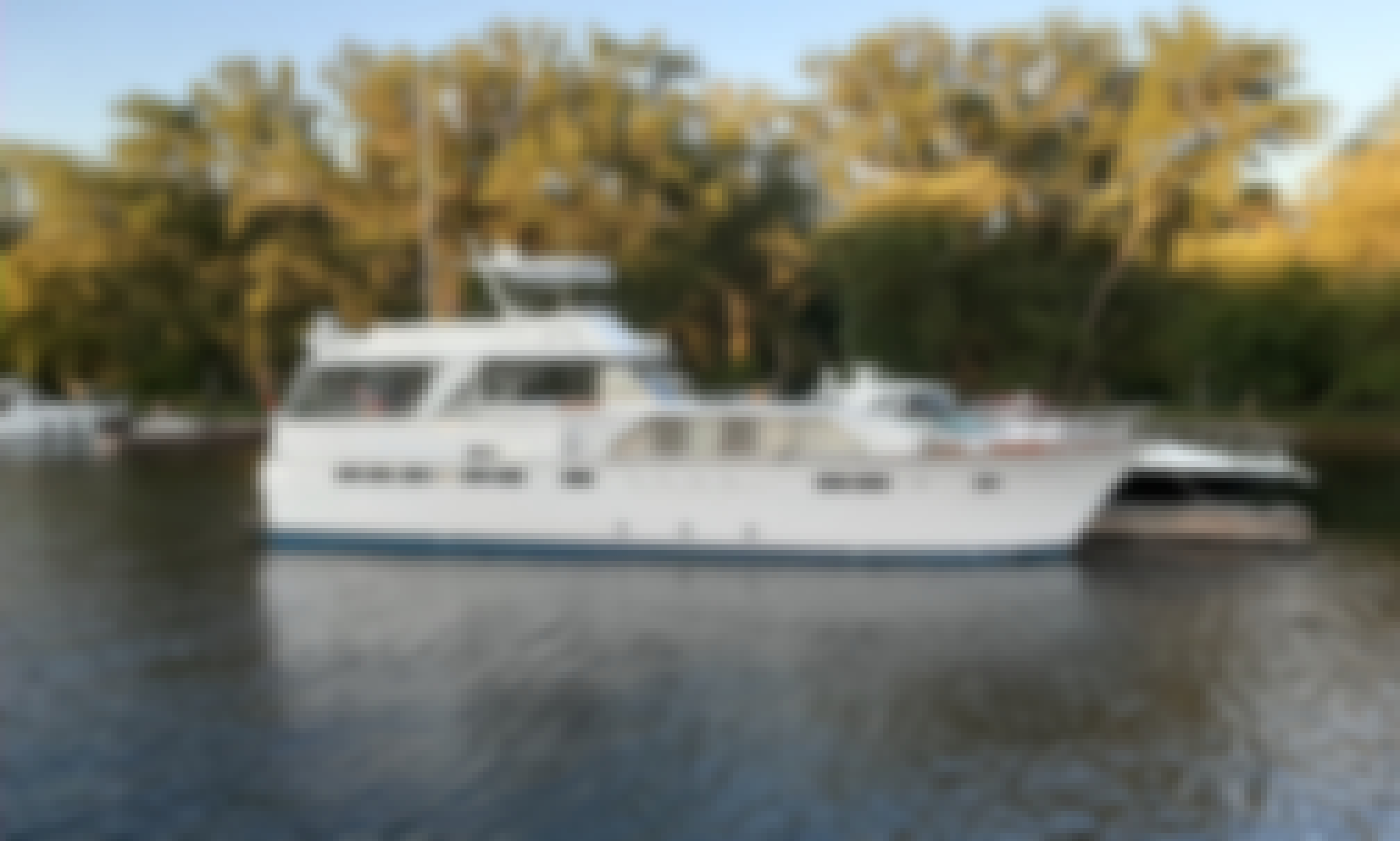 Chris Craft 40' Captain included boat ride with friends. Fall prices and deals