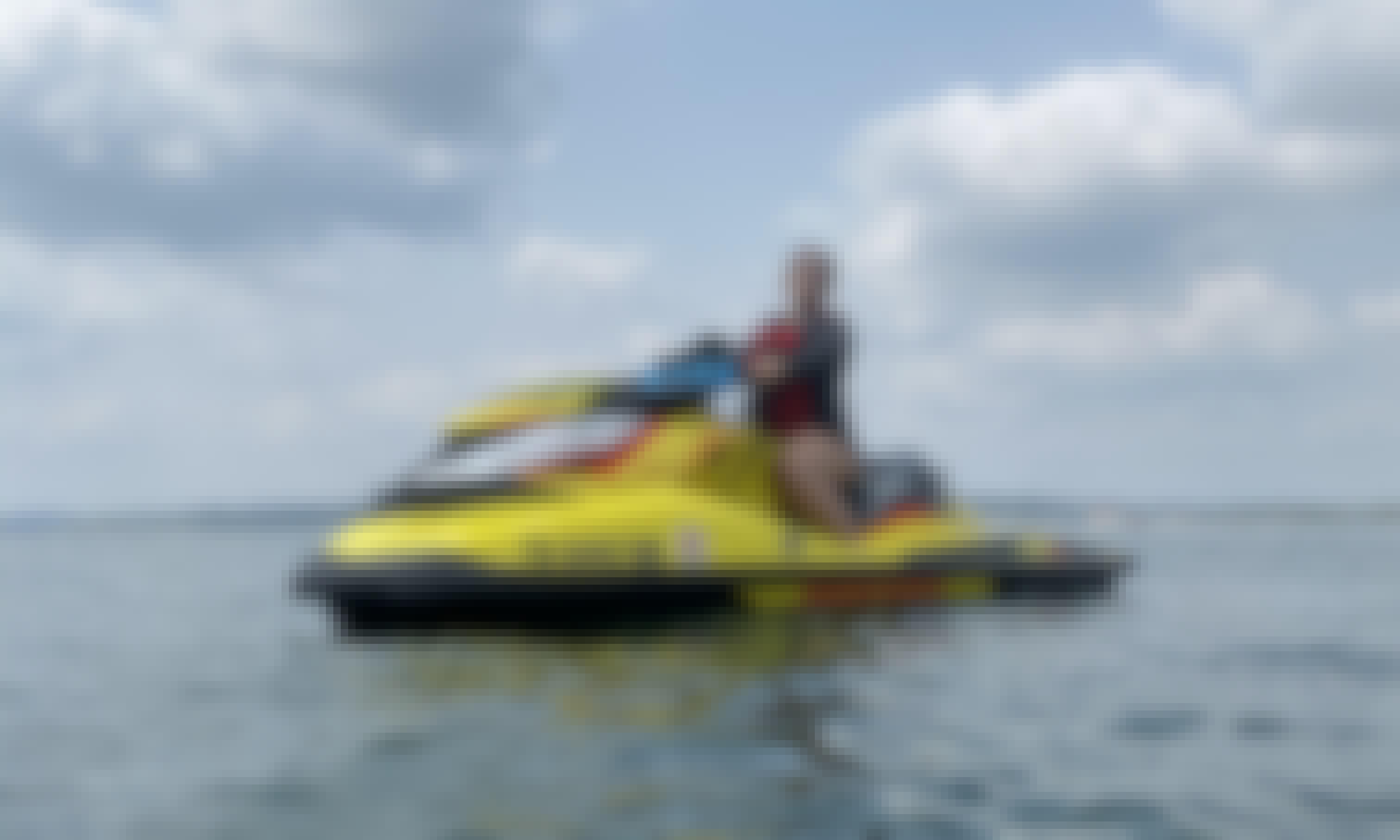 SeaDoo RXP-X Supercharged Jet Ski on Lake Travis and Lake Austin