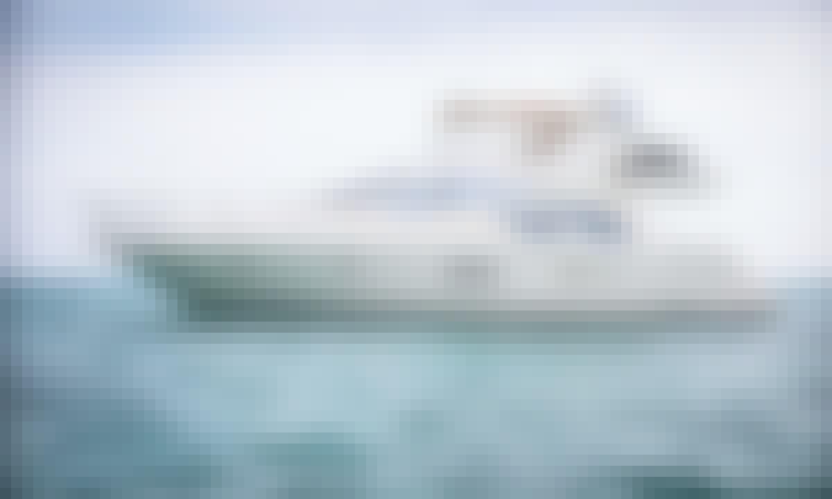 VIP Cozumel Secrets Experience onboard 58' Azimut Motor Yacht from Puerto Adventuras
