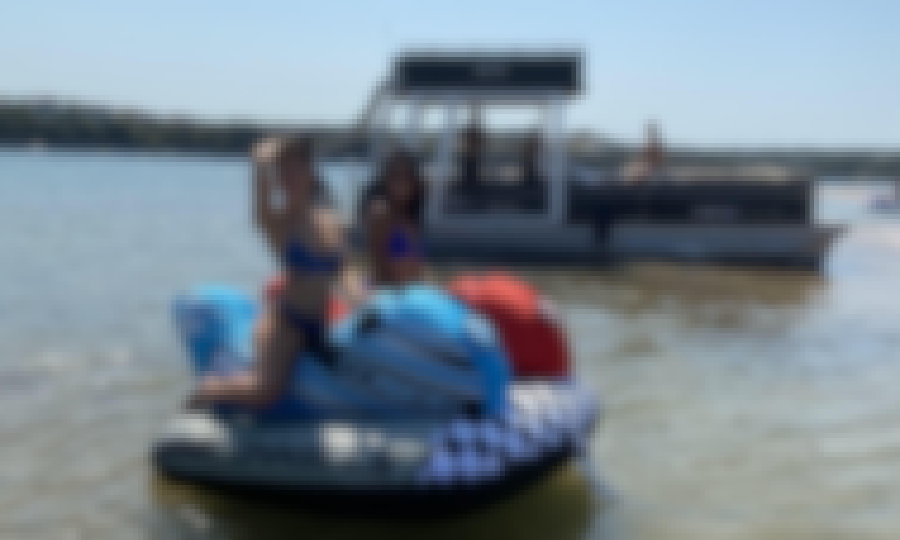 2019 16 passenger Double Decker with Slide Tritoon in Leander, Texas