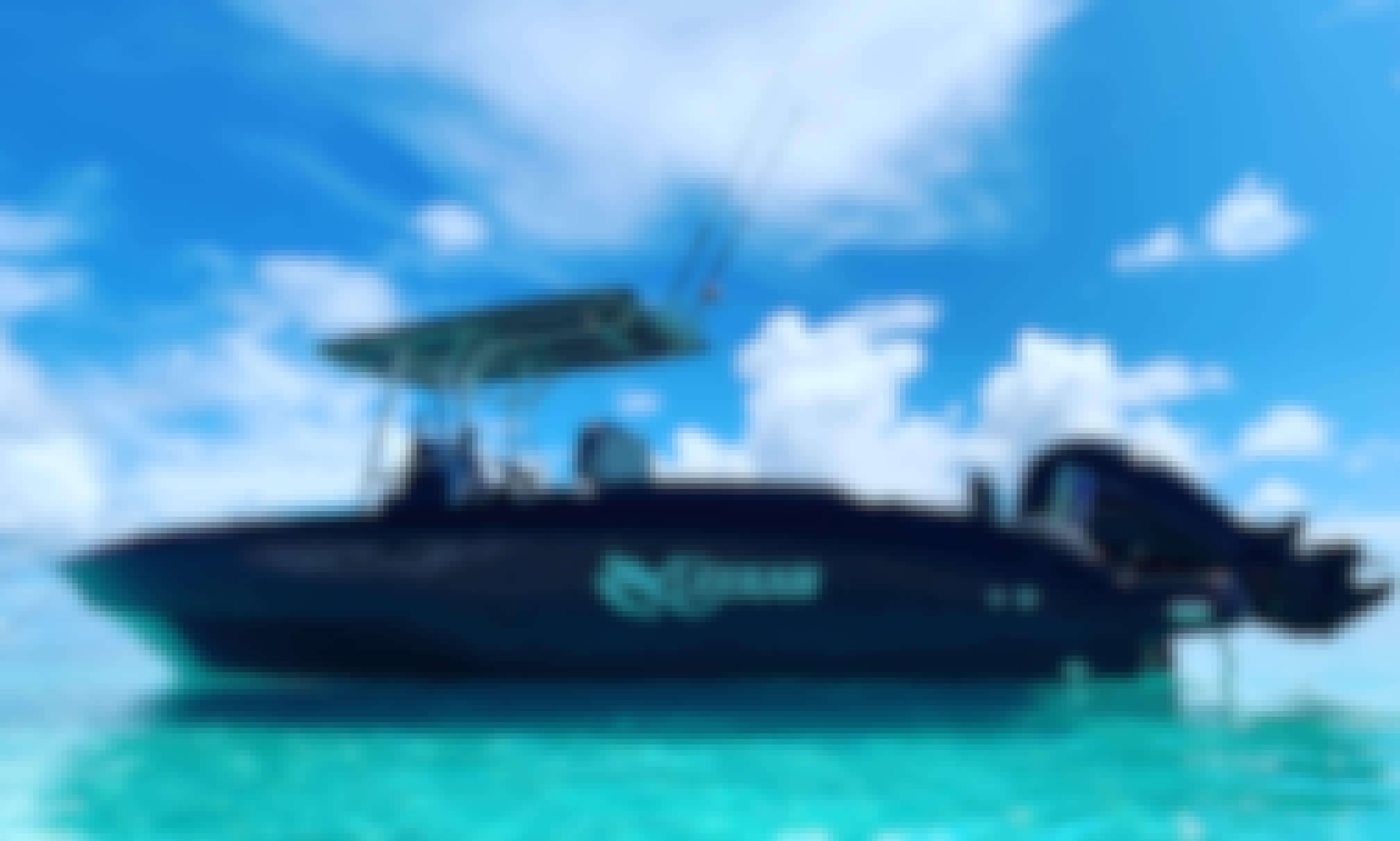 Amazing trips in Maldives ocean