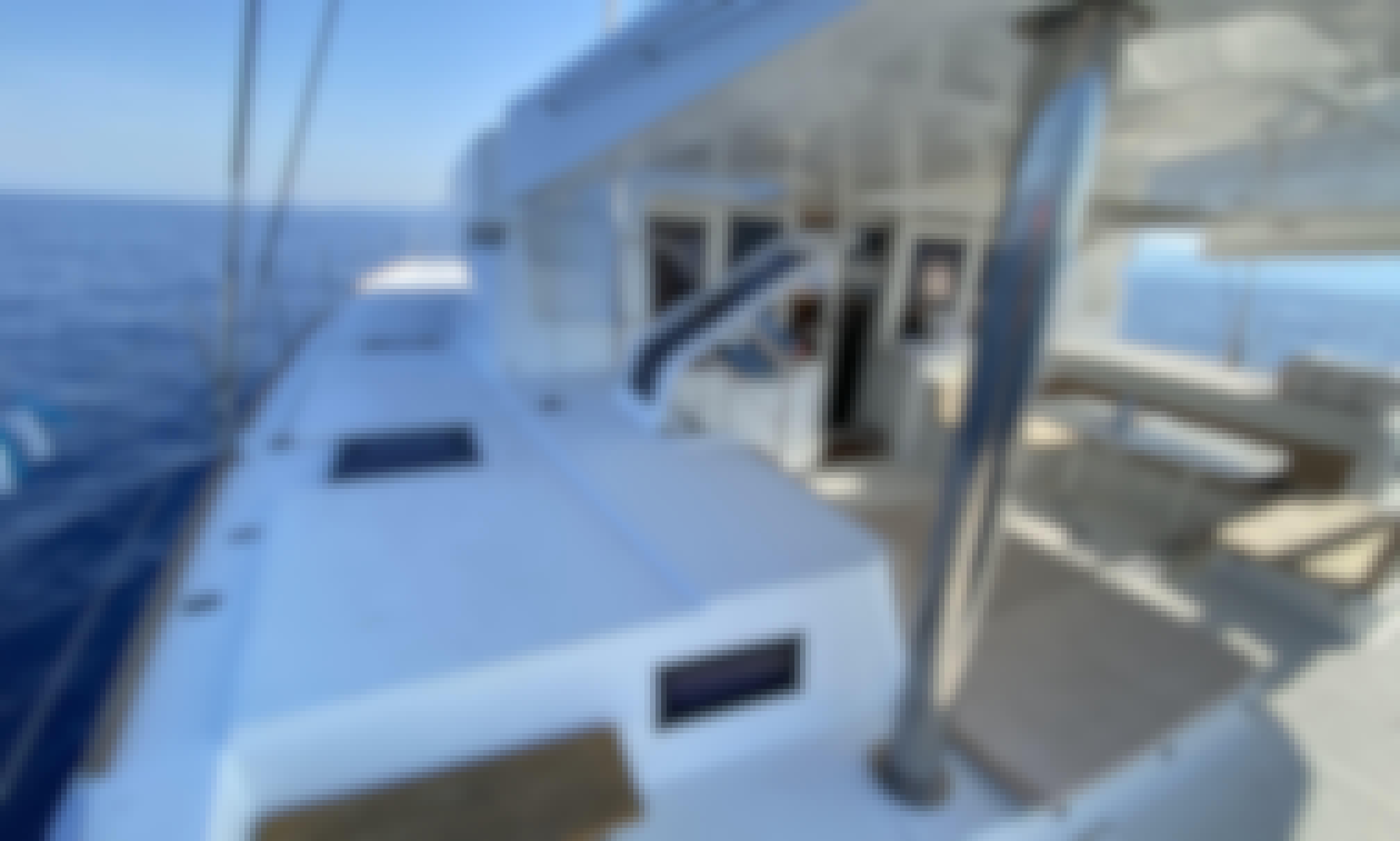 Unique journey on a Lagoon 52F Catamaran in Marseille