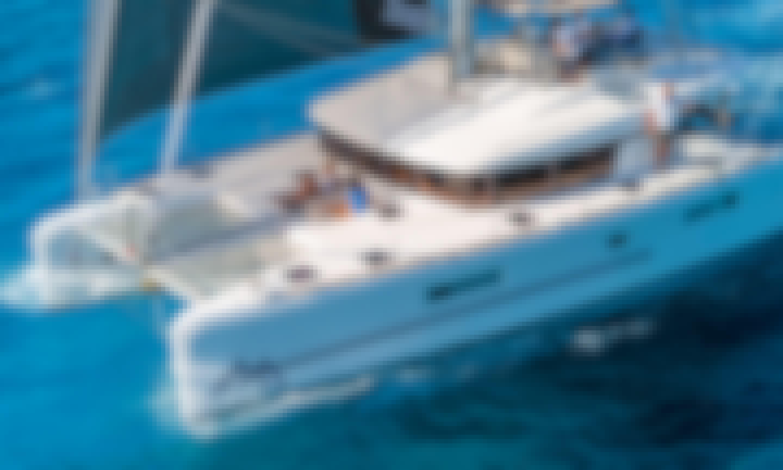Lagoon 450 catamaran Savana for 20 people