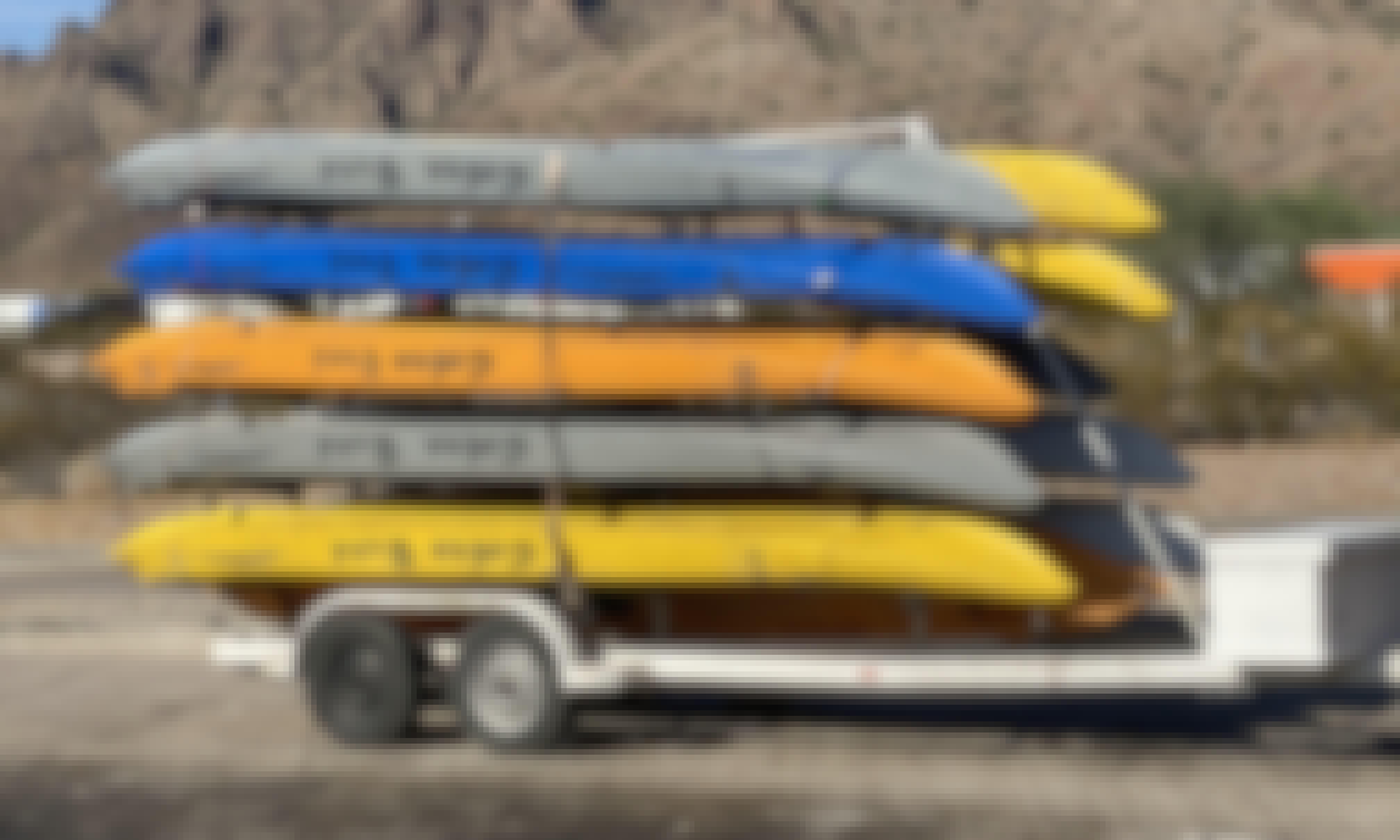 Group Kayak Rentals in Canyon Lake, Arizona
