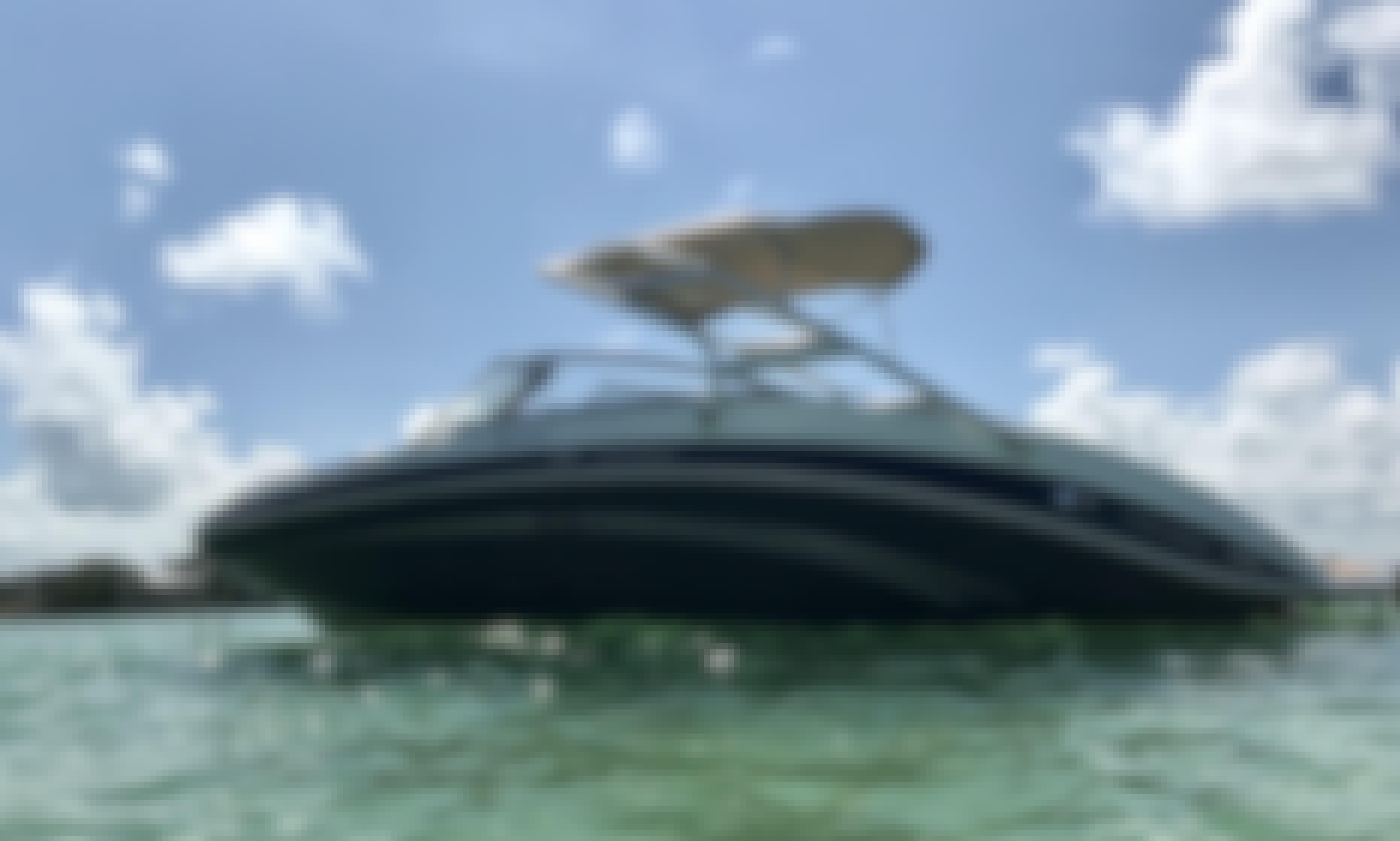 Miami Boat Day 25' Yamaha Jet Boat!