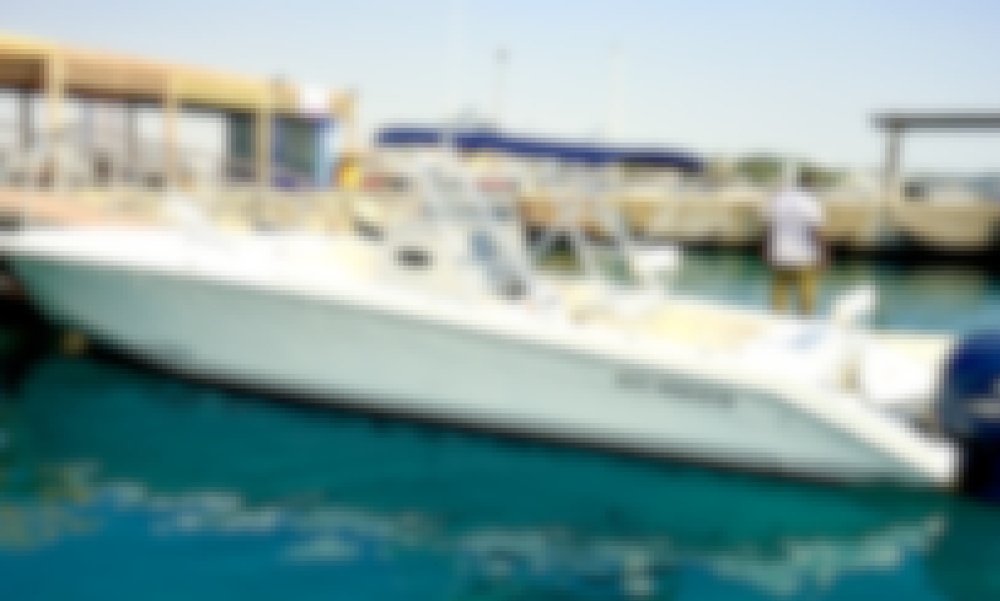 RED SEA MARINA 21 PLEASURE & DIVING BOAT FOR RENT
