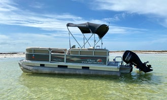 20ft Sun Tracker Party Pontoon for rent in Clearwater Beach, Tarpon Springs, and Tampa (10% off Weekdays)